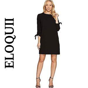 ELOQUII BLACK SHIFT DRESS
